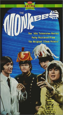 9786304088098: The Monkees, Vol. 05 - The Success Story / Monkees Mind Their Manor [VHS]