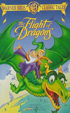 9786304106334: The Flight of Dragons [VHS]