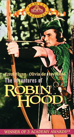9786304111253: Adventures of Robin Hood [VHS]