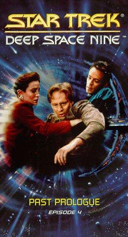 9786304132340: Star Trek - Deep Space Nine, Episode 4: Past Prologue [VHS]