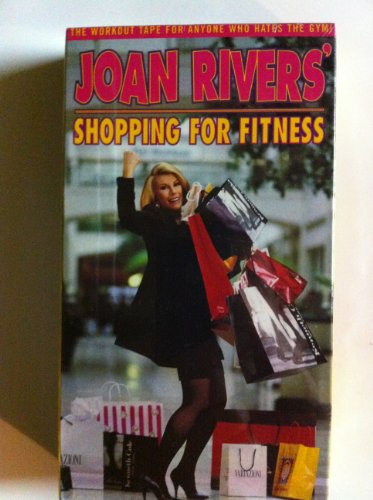 9786304145388: Joan Rivers: Shopping For Fitness [VHS]