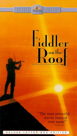 9786304151310: Fiddler on the Roof (Widescreen Edition) [VHS]