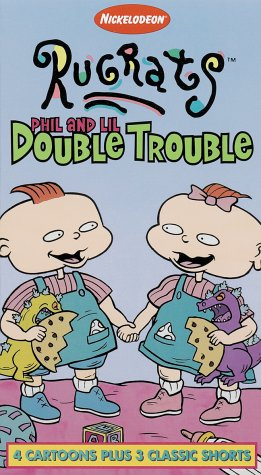 9786304168158: Rugrats - Phil & Lil Double Trouble [VHS]