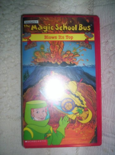 9786304176979: The Magic School Bus: Blows Its Top [VHS]