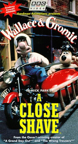 9786304179024: Wallace & Gromit - A Close Shave [VHS]