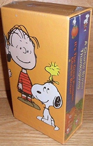 9786304179499: It's the Great Pumpkin, Charlie Brown/A Charlie Brown Thanksgiving [VHS]