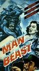 9786304187289: Man Beast [VHS]