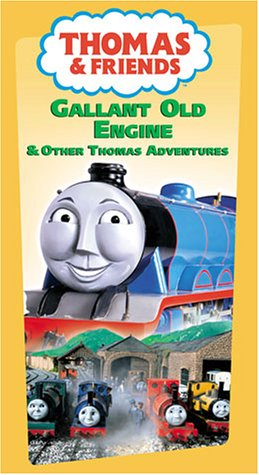 9786304190876: Thomas the Tank Engine & Friends - The Gallant Old Engine [VHS]