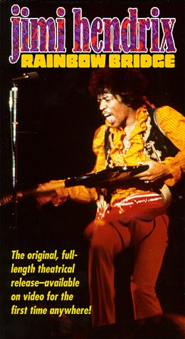 9786304204009: Jimi Hendrix: Rainbow Bridge [VHS]