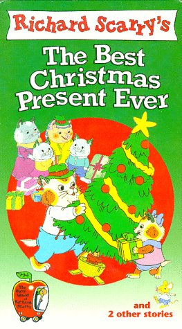 9786304233283: Richard Scarry's The Best Christmas Present Ever [VHS]