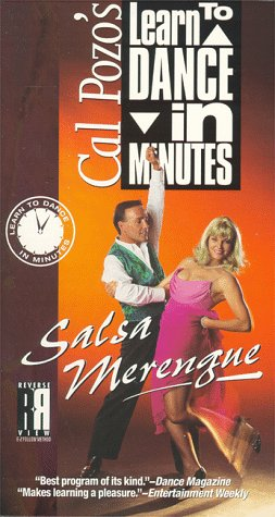 9786304236284: Cal Pozo's Learn to Dance in Minutes: Salsa Merengue [VHS]