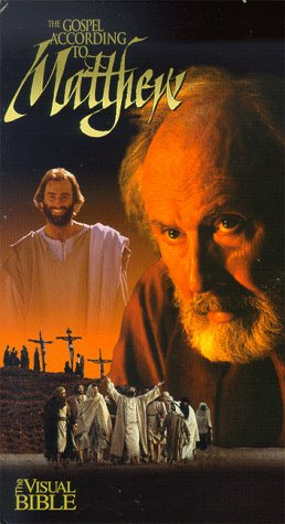 9786304239155: The Gospel According to Matthew (The Visual Bible) (Vols 1-3, chapters 1-28) SPECIAL COMMEMORATIVE EDITION [VHS]