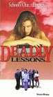9786304255063: Deadly Lessons [VHS]