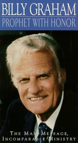 9786304267936: Billy Graham:Prophet With Honor [VHS]