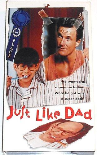 9786304274057: Just Like Dad [VHS]