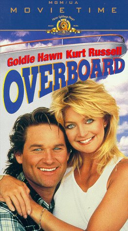 9786304286517: Overboard [VHS]