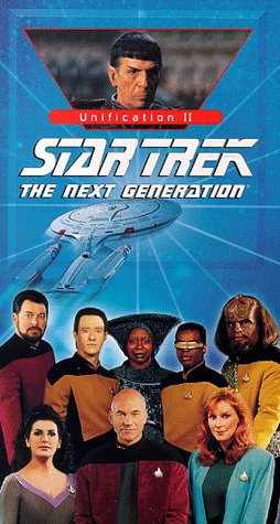 9786304294949: Star Trek: Next Generation, Episode 107 - Unification II [VHS]