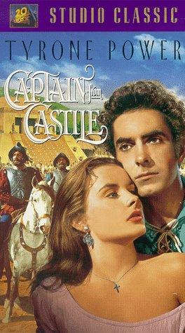 9786304342565: Captain From Castile [VHS]