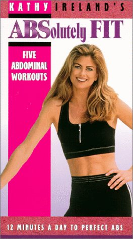 9786304353455: Kathy Ireland's Absolutely Fit [VHS]
