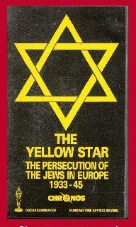 9786304354773: Yellow Star - Persecution of Jews in Europe [VHS]