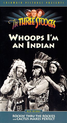 9786304372432: Three Stooges:Whoops I'm An Indian [VHS]