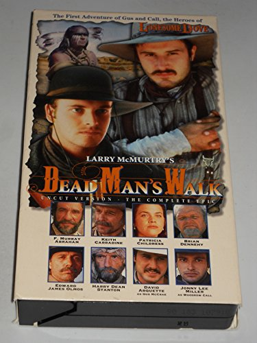 9786304401538: Lonesome Dove: Dead Man's Walk [VHS]
