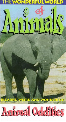 9786304418574: Wonderful World of Animals - Animal Oddities [VHS]