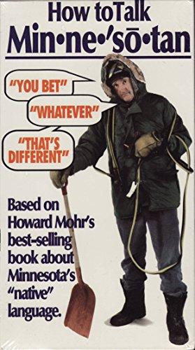 9786304418956: How to Talk Minnesotan [VHS]