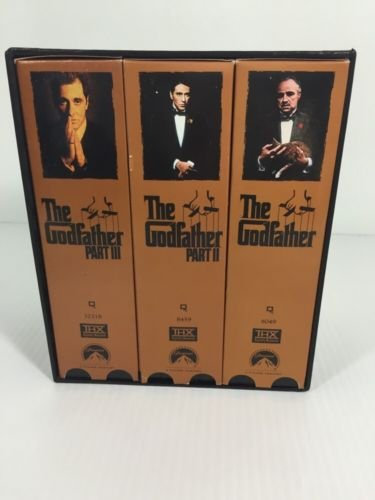 9786304467565: Godfather 25th Anniversary Collection [VHS]