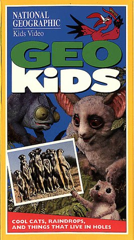 9786304474808: National Geographic's GeoKids: Cool Cats, Raindrops, and Things That Live in Holes [VHS]