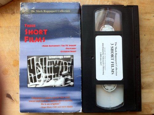 9786304482735: Three Short Films -- Postcards, Exterior Night, & Mark Rappaport: The TV Spinoff [VHS]