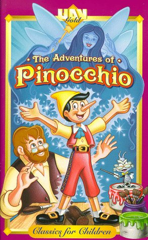 9786304488928: The Adventures of Pinocchio [VHS]
