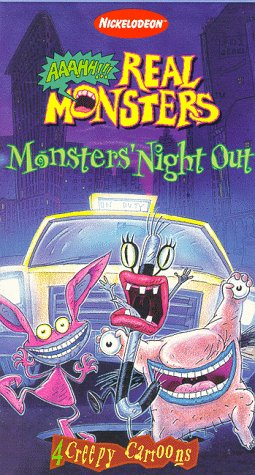 9786304489659: Aaahh!!! Real Monsters - Monsters' Night Out (1997 VHS)