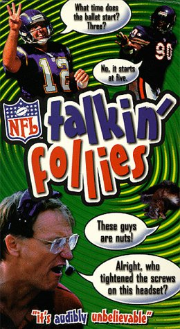 9786304522752: NFL Talkin' Follies [VHS]