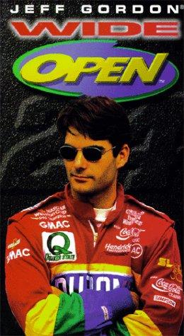 9786304553251: Jeff Gordon Wide Open [VHS]