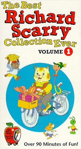 9786304584446: The Best Richard Scarry Collection Ever - Volume 1 [VHS]