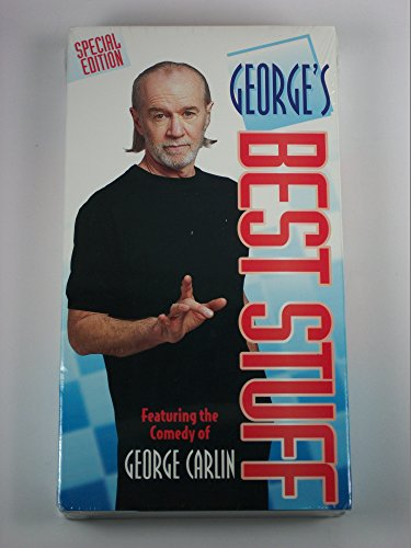 9786304597811: George Carlin: George's Best Stuff [VHS]