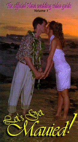 9786304618189: Let's Get Married: Official Maui Wedding (1996) [VHS]
