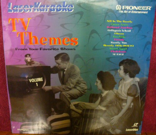 9786304677063: Laser Karaoke: TV Themes from Your Favorite Shows Vol. 1 [Laser Disc]