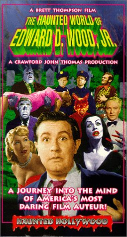 9786304679593: The Haunted World of Edward D. Wood Jr. [VHS]