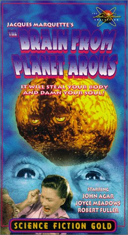9786304680537: Brain from Planet Arous [VHS]