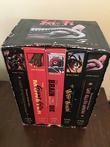 9786304687581: Sci-Fi Classics Box Set [USA] [VHS]