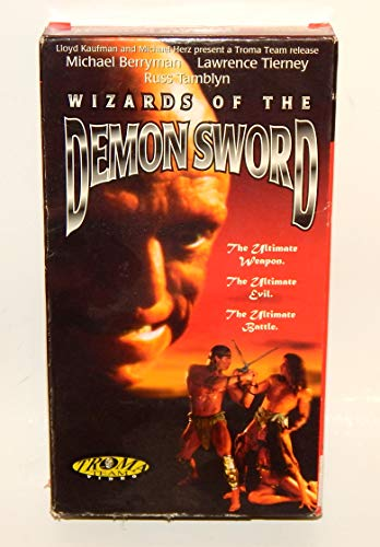 9786304699041: Wizards of the Demon Sword [USA] [VHS]