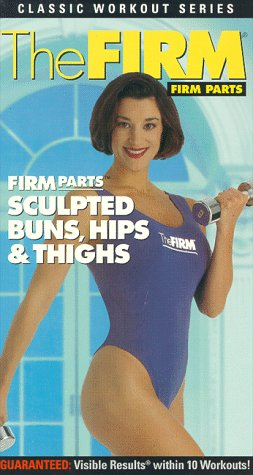 9786304828977: The Firm: Sculpted Buns, Hips, and Thighs [VHS]