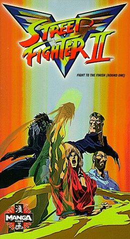 9786304834244: Street Fighter II V9 [VHS]