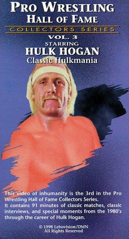 9786304860519: Pro Wrestling Hall of Fame Vol.3 [VHS]