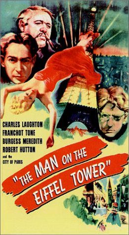 9786304868515: The Man on the Eiffel Tower [VHS]