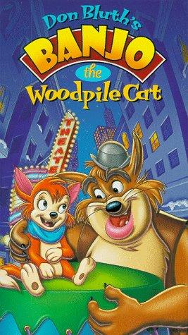 9786304872413: Banjo the Woodpile Cat [VHS]