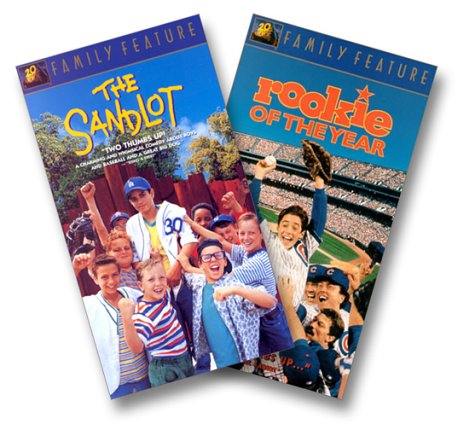 9786304873731: The Sandlot/Rookie of the Year [VHS]