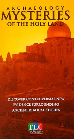 9786304879825: Archeology: Mysteries of the Holy Land [VHS]